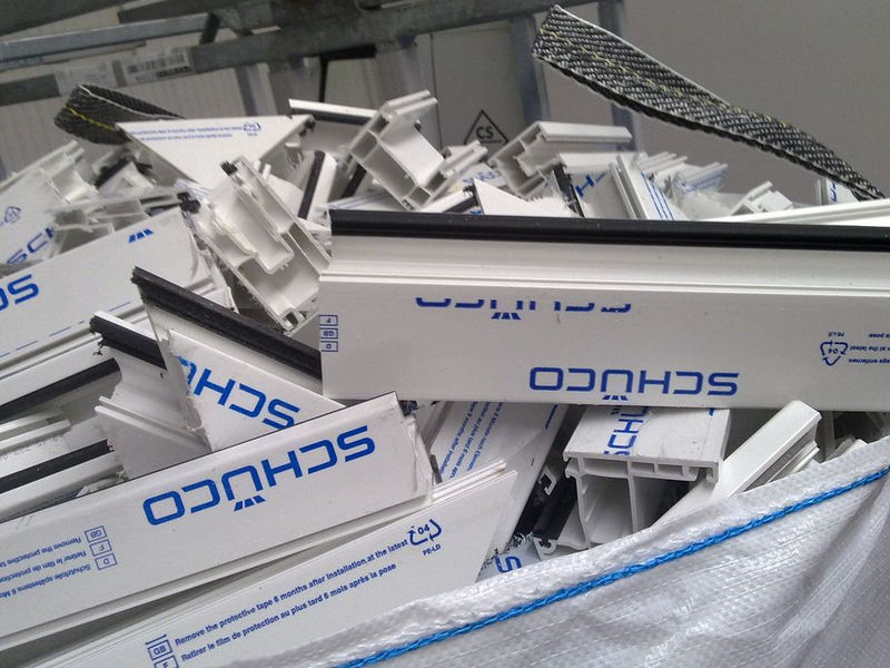 pvc plastic production frames